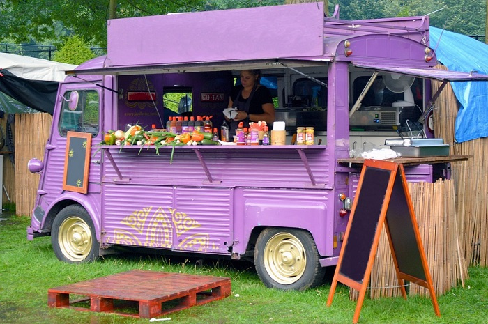A classificação dos food trucks