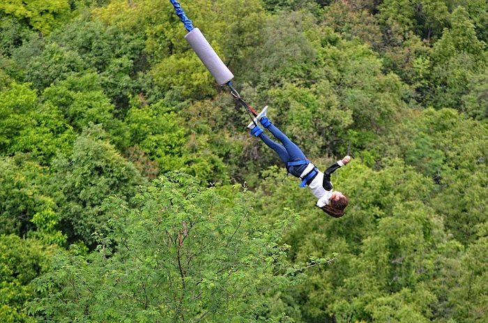 Os requisitos normativos para o bungee jump